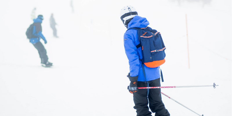 Can You Ski While It's Snowing?