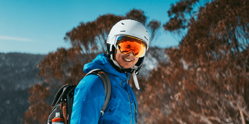 Photochromic Ski Goggles