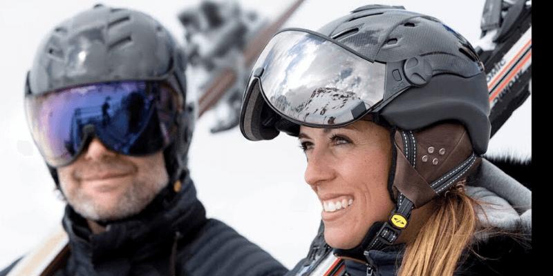 Ski Helmets with Visors