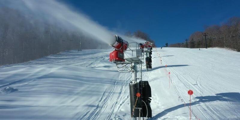 Ski Resorts Make Snow