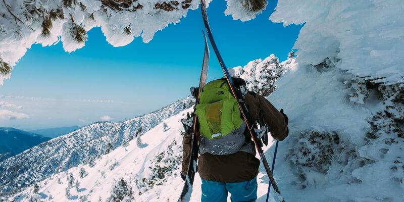 Ski Steep Terrain