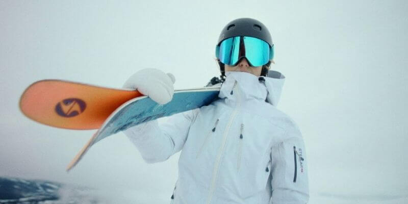 Ski Without Goggles