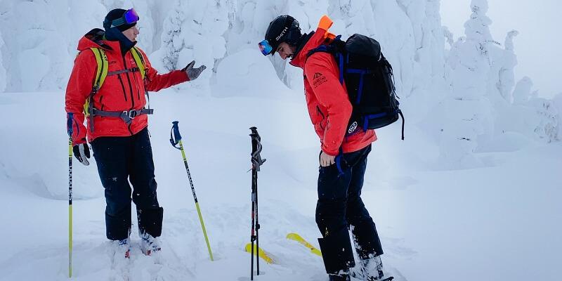 Ski pant for man