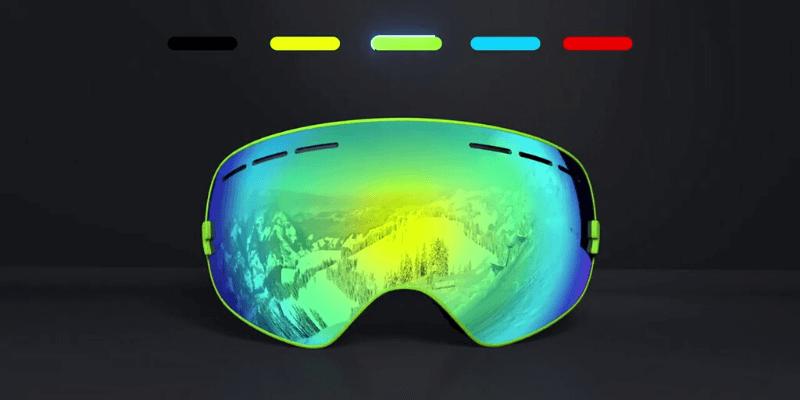 VLT in Ski Goggles