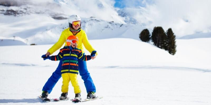 take kid ski