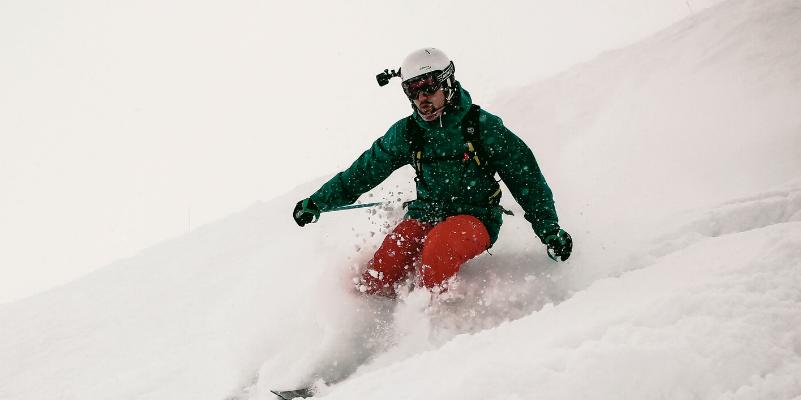 gopro ski mount